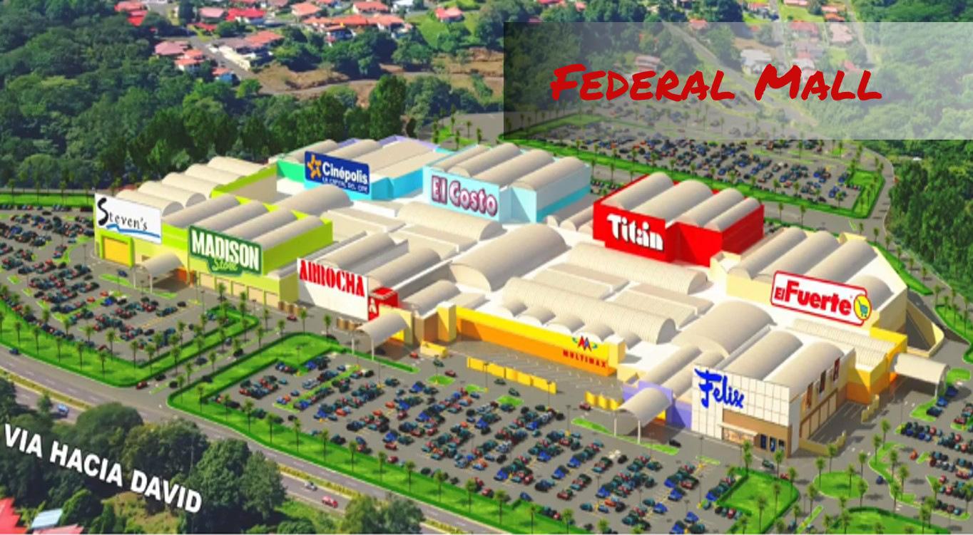 Federal Mall, centro comercial en Chiriquí