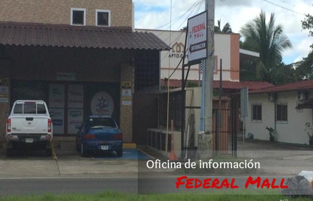 Oficina de información Federal Mall, Chiriquí