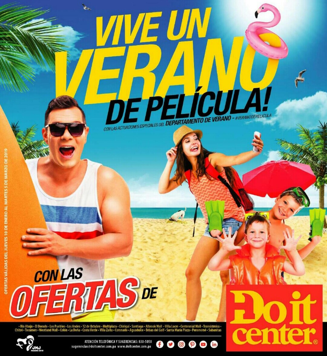 Catalogo Doit Center Verano 2019 página 1