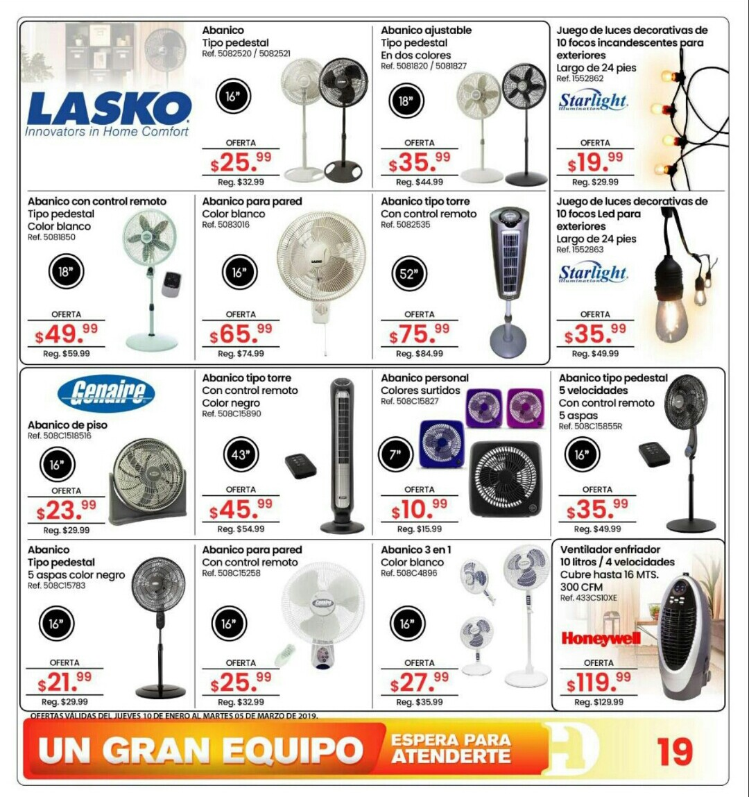 Catalogo Doit Center Verano 2019 página 19