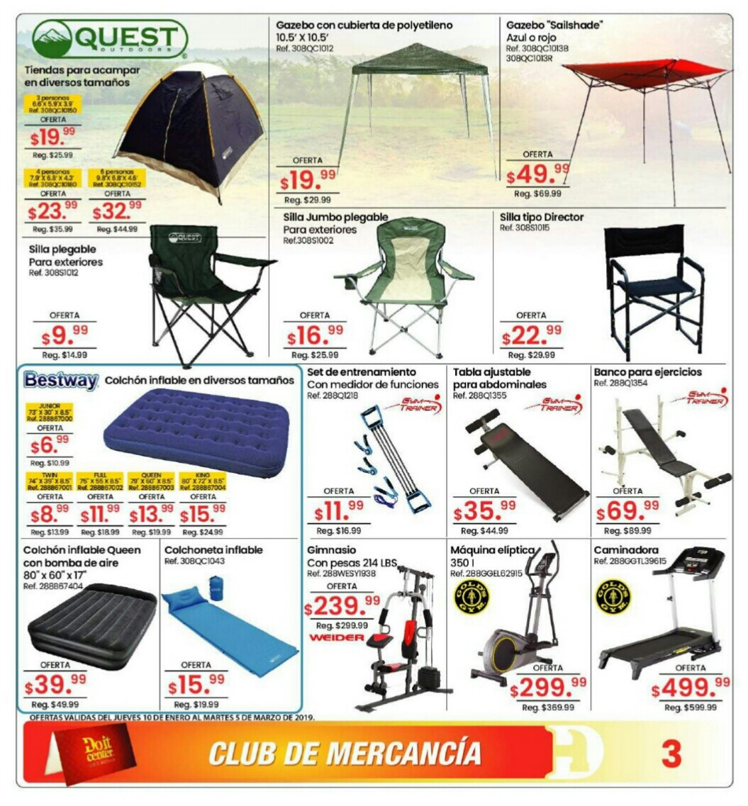 Catalogo Doit Center Verano 2019 página 3