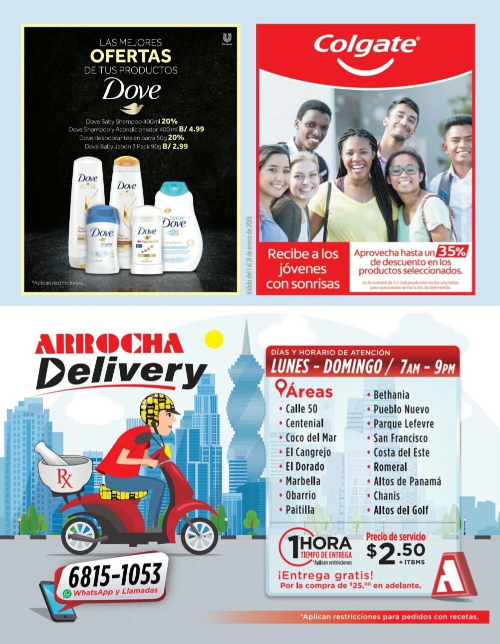 Catalogo Farmacias Arrocha Enero año 2019 página 36