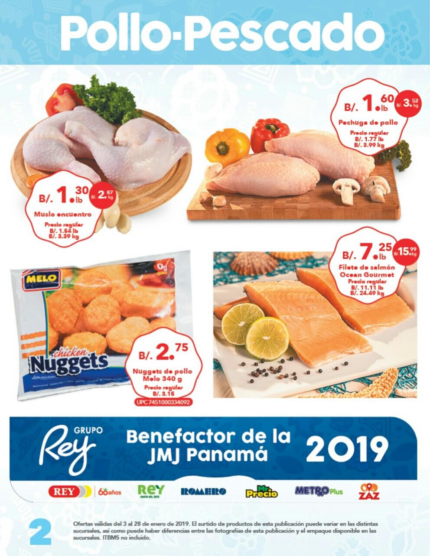 Catálogo sm Rey enero 2019 pagina 2