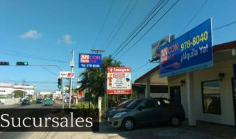 ancon rent a car sucursales