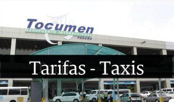 tarifas precios taxis tocumen panama
