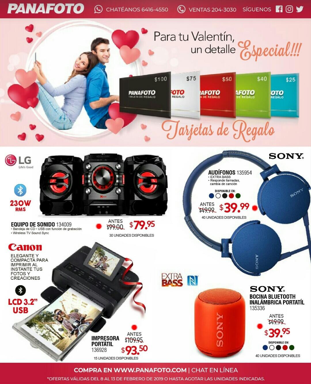 Catalogo de San Valentin Panafoto 2019 p2