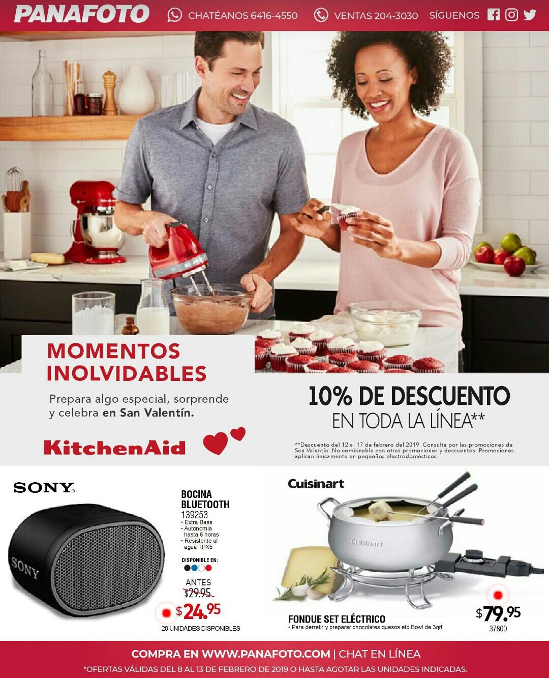 Catalogo de San Valentin Panafoto 2019 p6