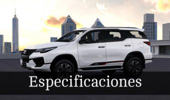 Toyota Fortuner 2019 precios