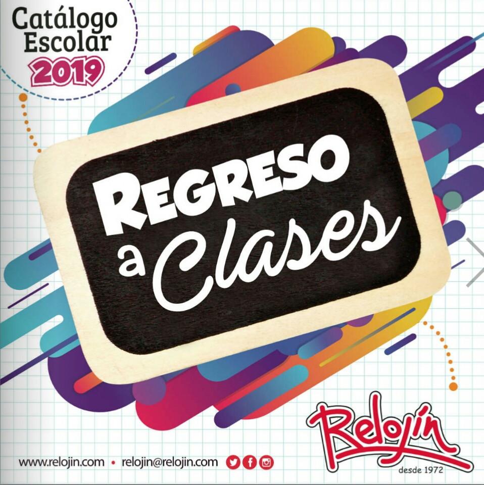 Catalogo Relojin regreso a clases 2019 p1