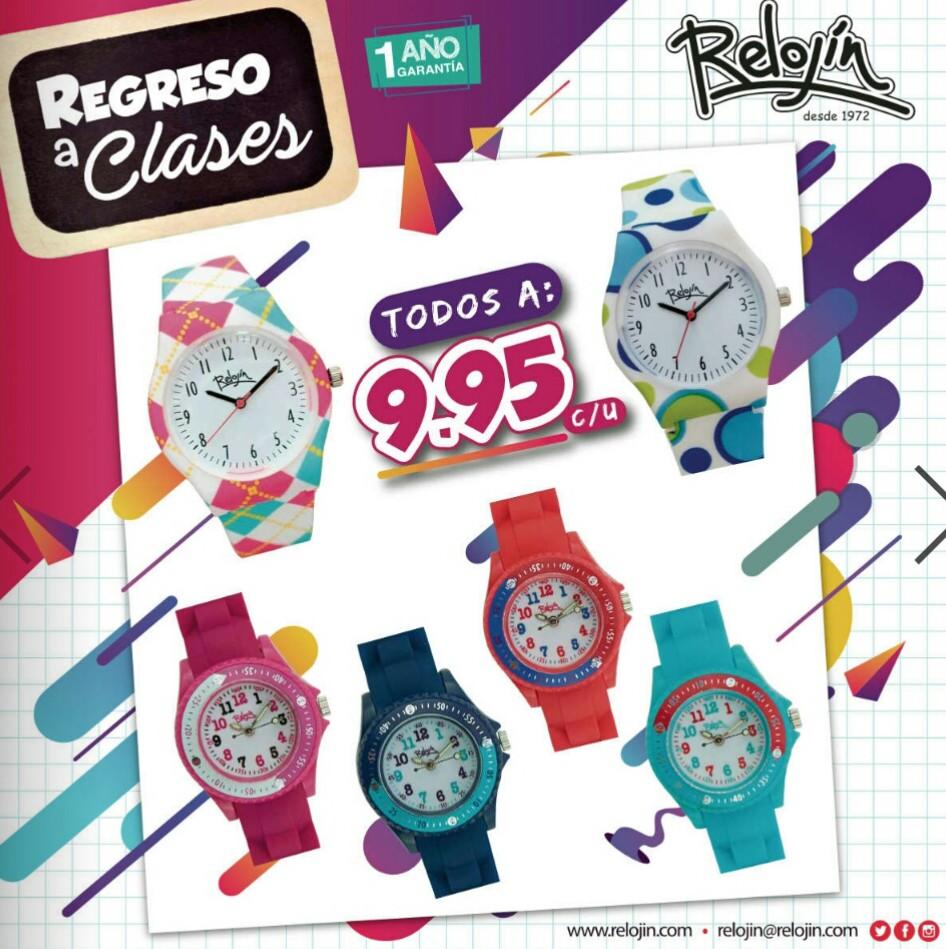 Catalogo Relojin regreso a clases 2019 p6