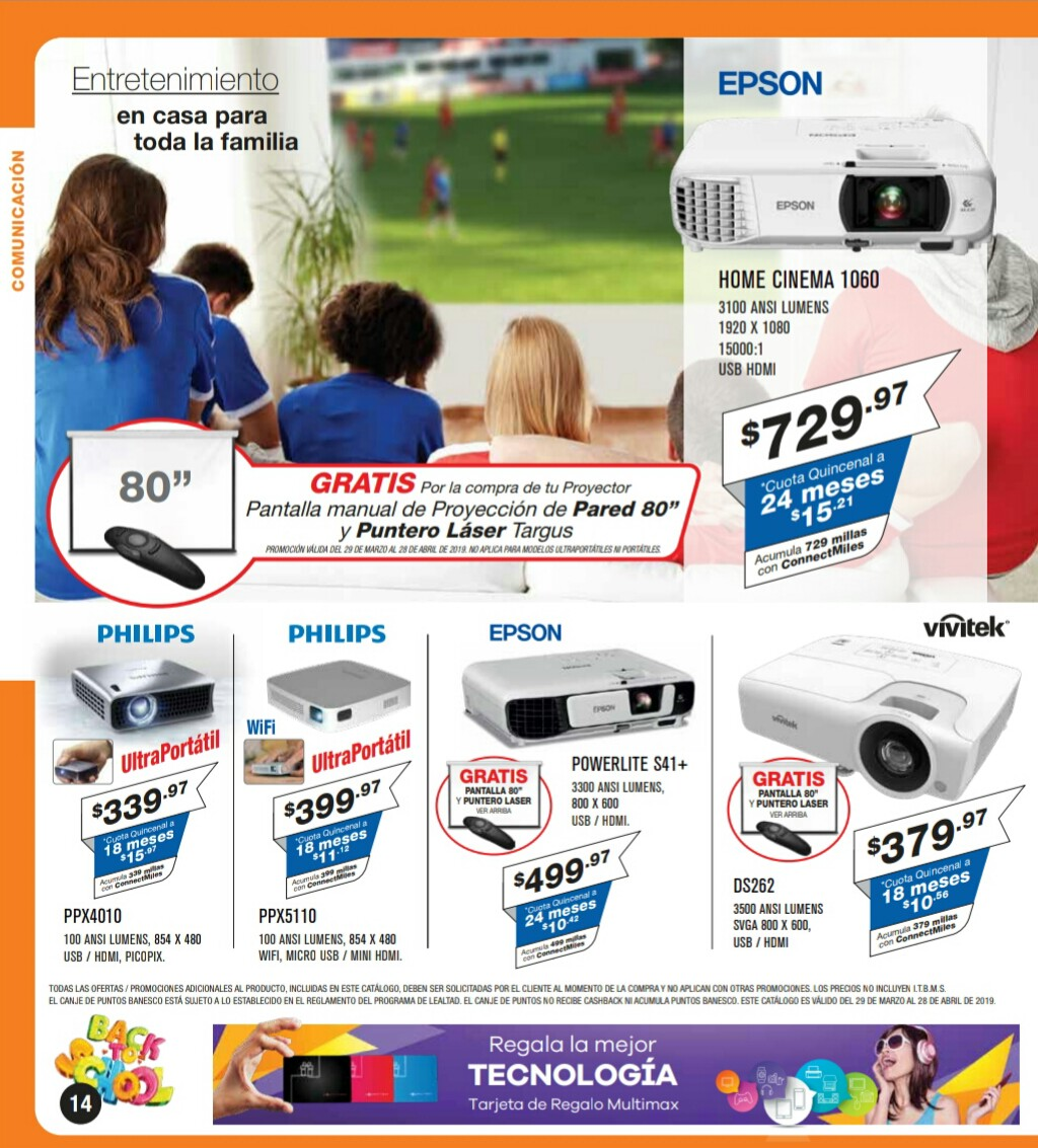 Catalogo Multimax Abril 2019 pagina 14