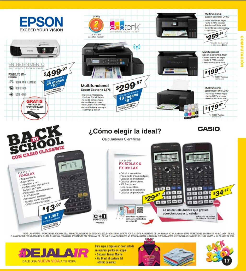 Catalogo Multimax Abril 2019 pagina 17