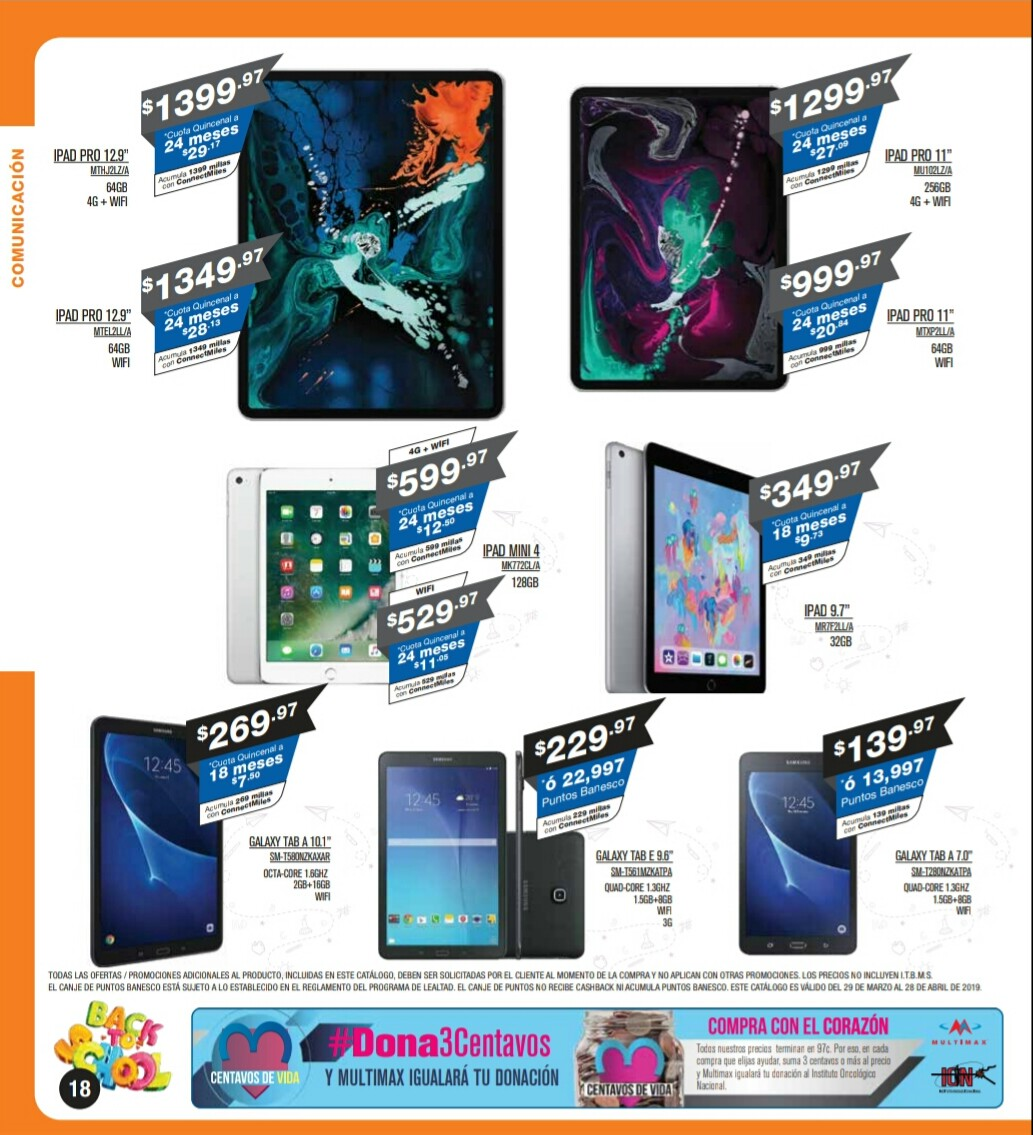 Catalogo Multimax Abril 2019 pagina 18
