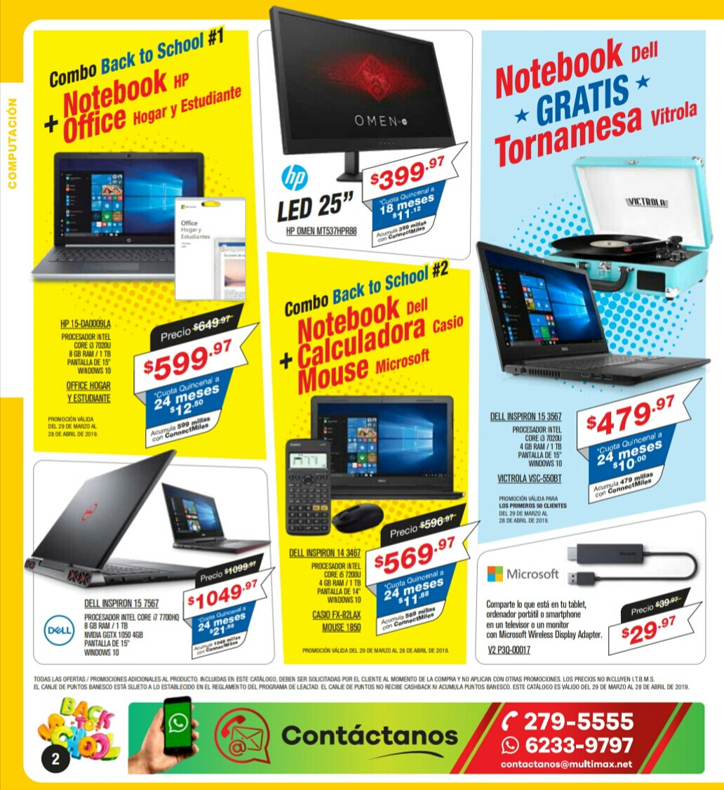 Catalogo Multimax Abril 2019 pagina 2