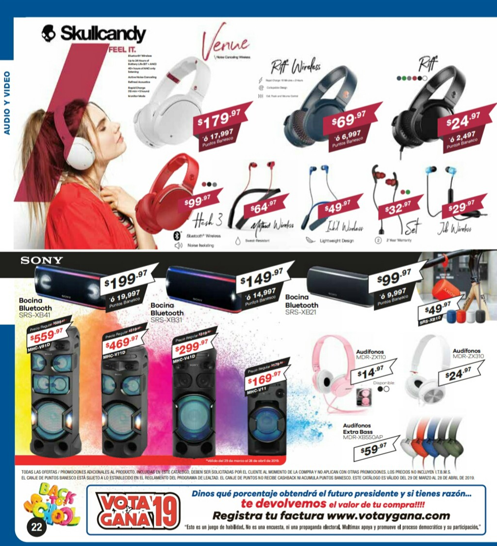 Catalogo Multimax Abril 2019 pagina 22