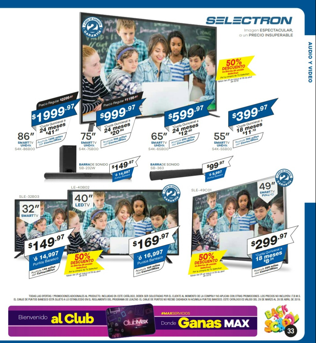 Catalogo Multimax Abril 2019 pagina 33
