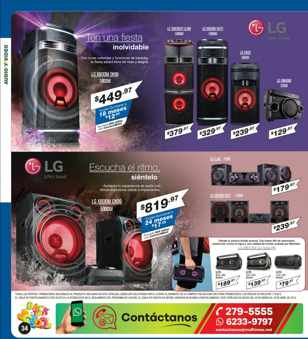 Catalogo Multimax Abril 2019 pagina 34