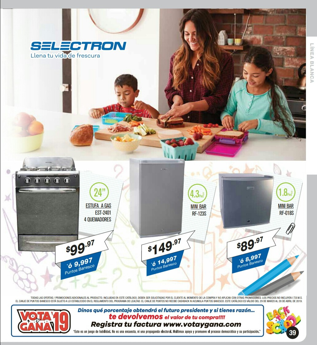 Catalogo Multimax Abril 2019 pagina 39
