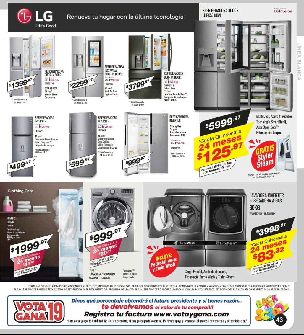 Catalogo Multimax Abril 2019 pagina 43