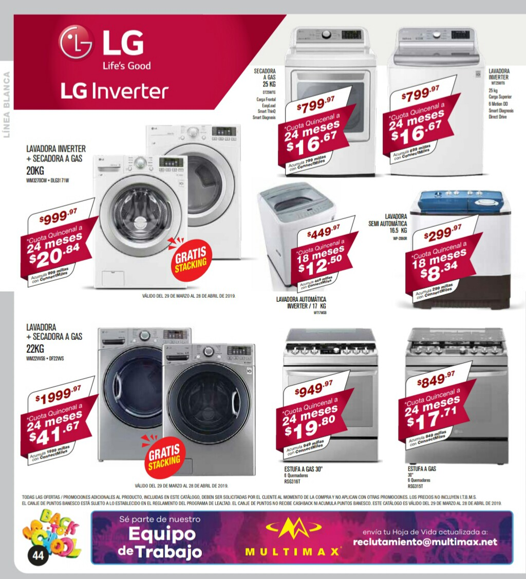 Catalogo Multimax Abril 2019 pagina 44