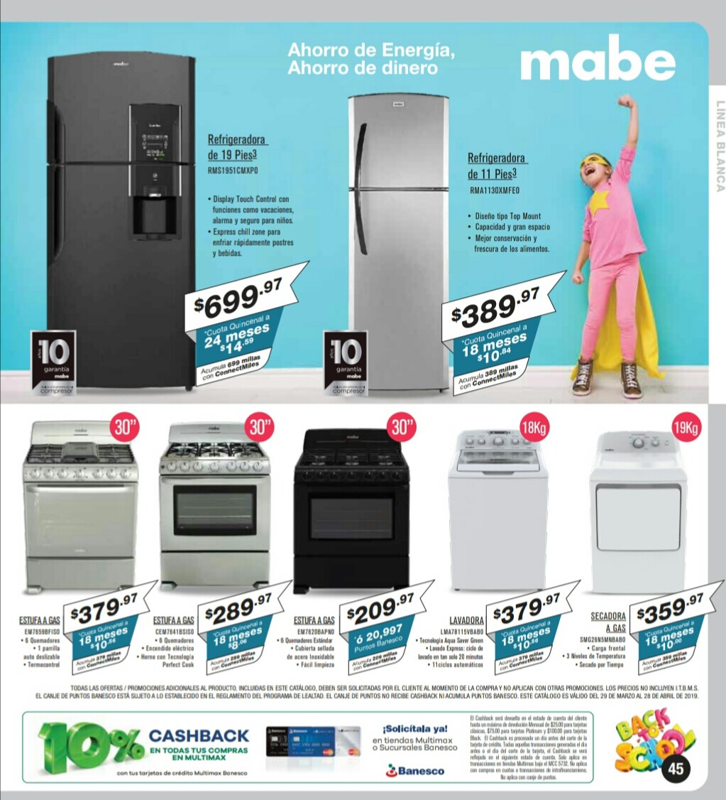 Catalogo Multimax Abril 2019 pagina 45