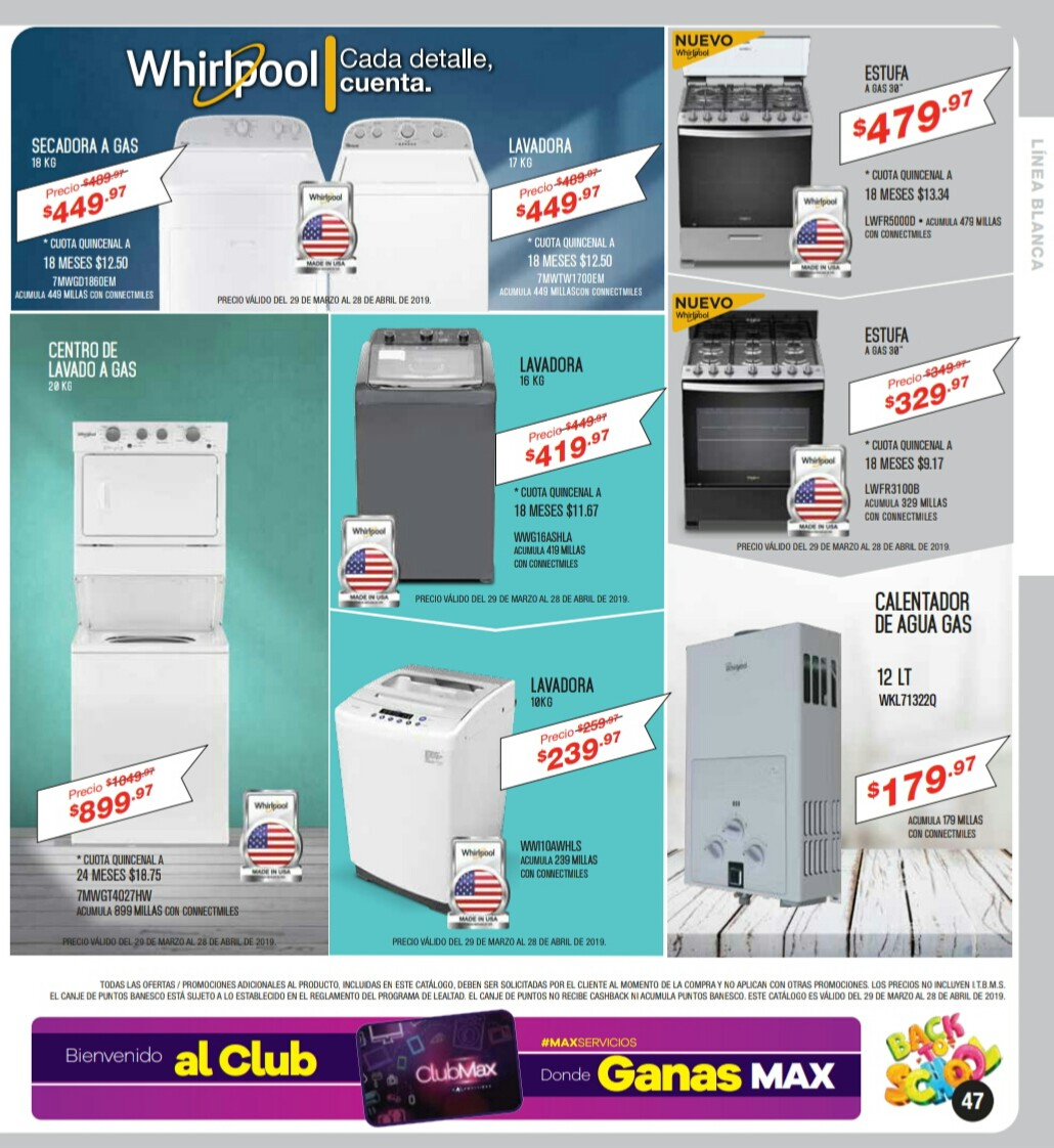 Catalogo Multimax Abril 2019 pagina 47