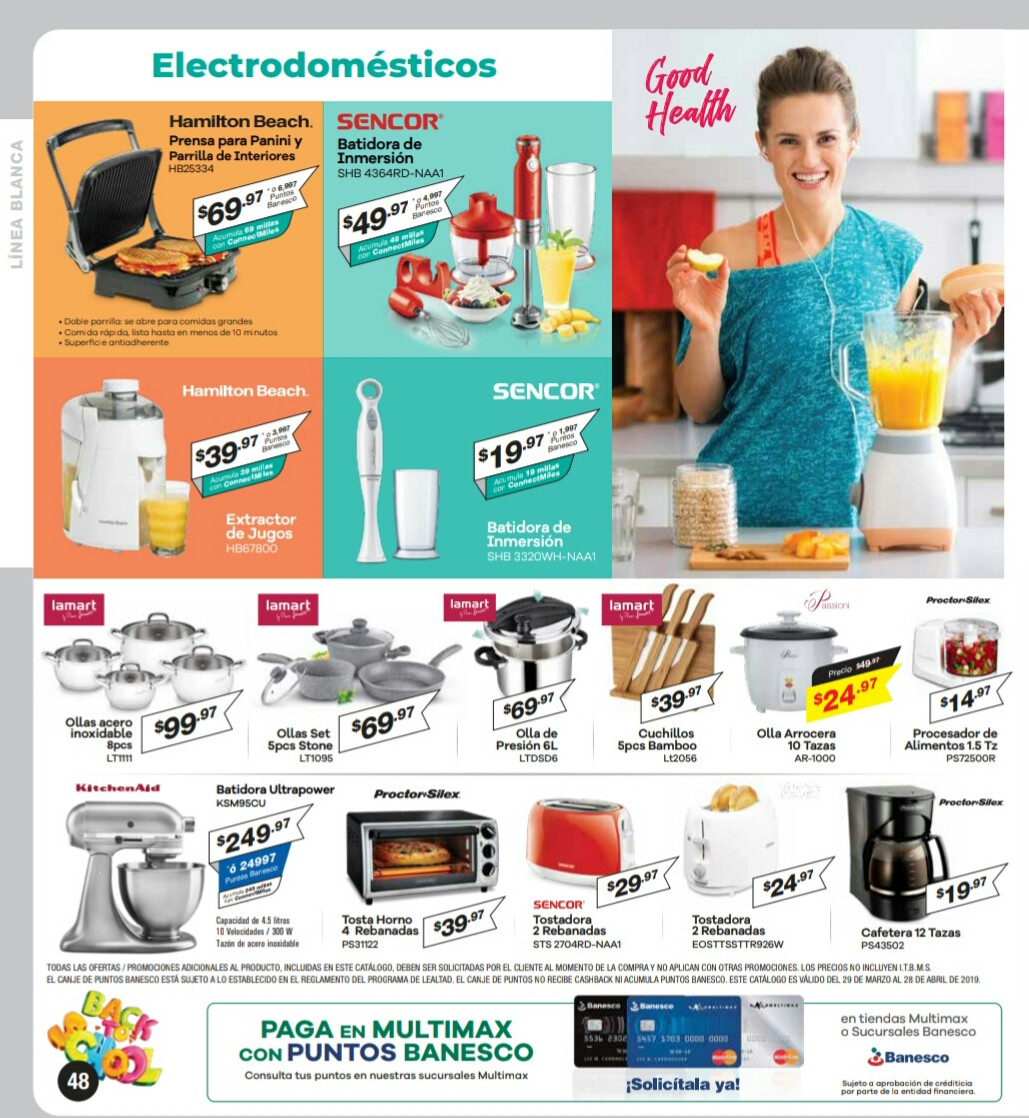 Catalogo Multimax Abril 2019 pagina 48