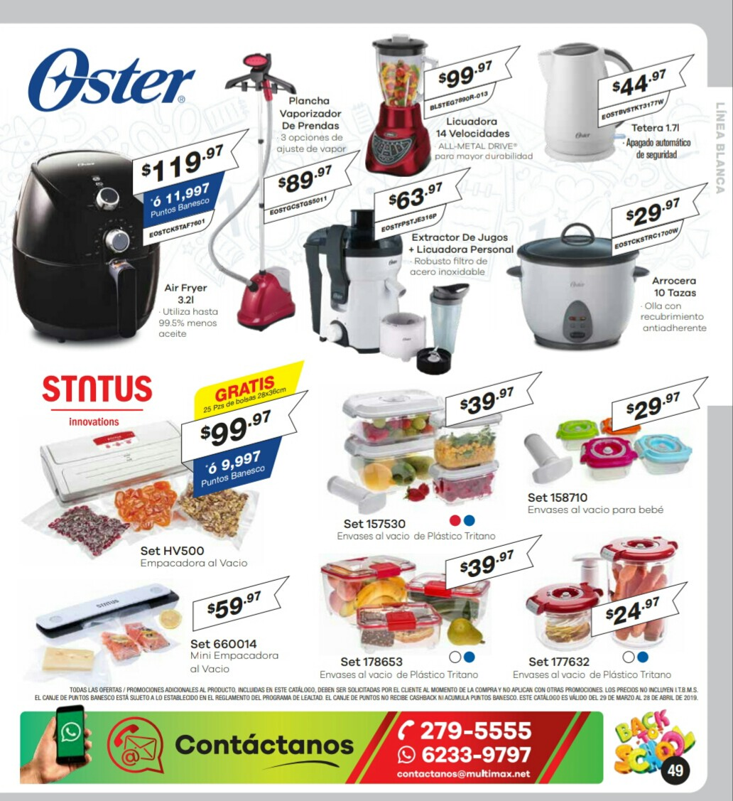 Catalogo Multimax Abril 2019 pagina 49
