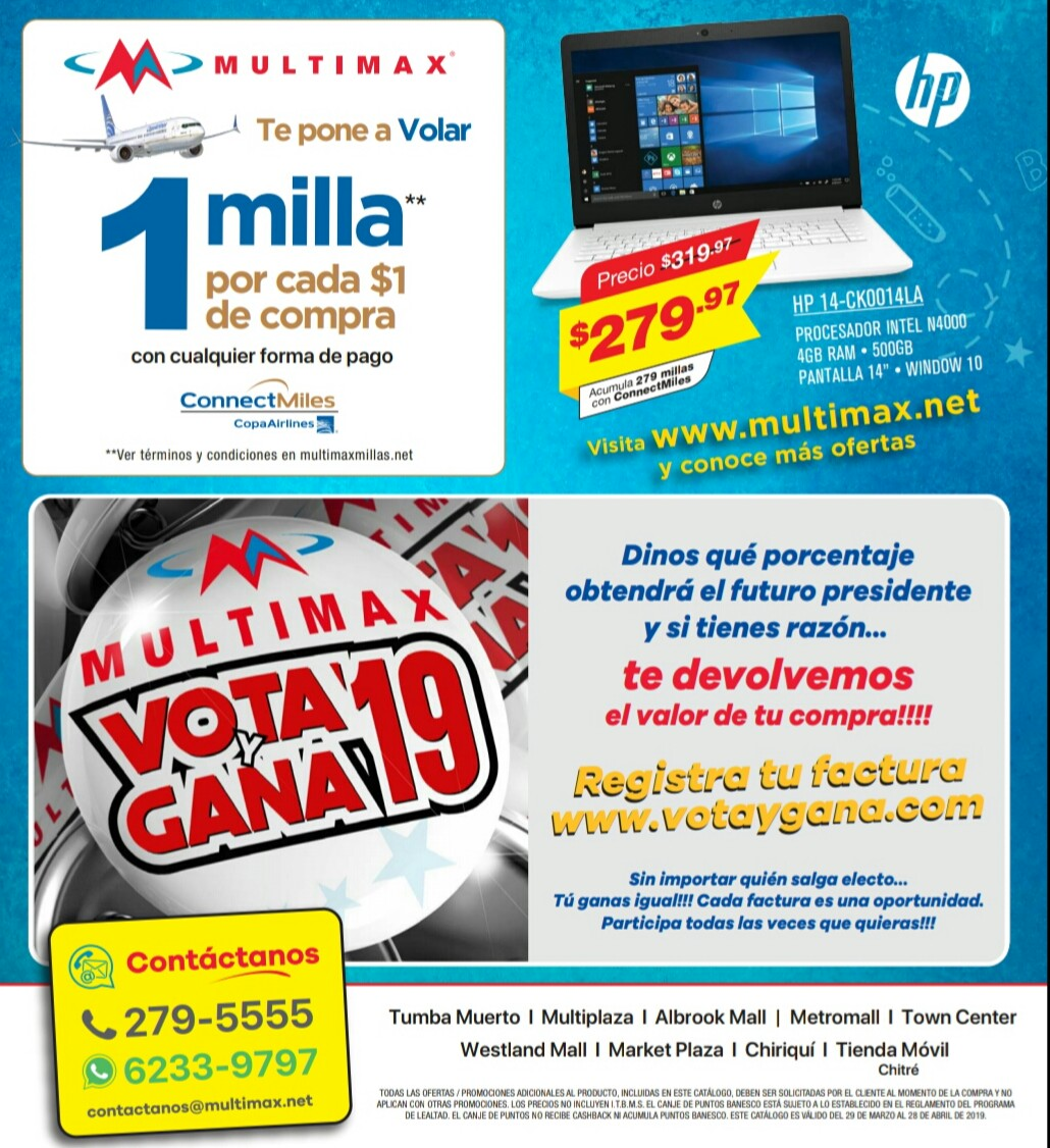 Catalogo Multimax Abril 2019 pagina 52