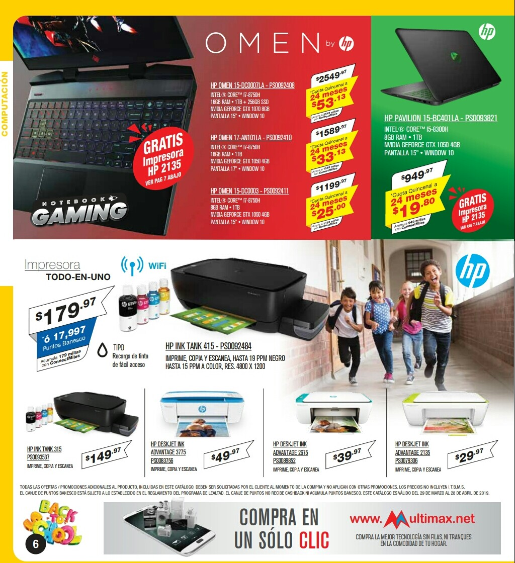 Catalogo Multimax Abril 2019 pagina 6