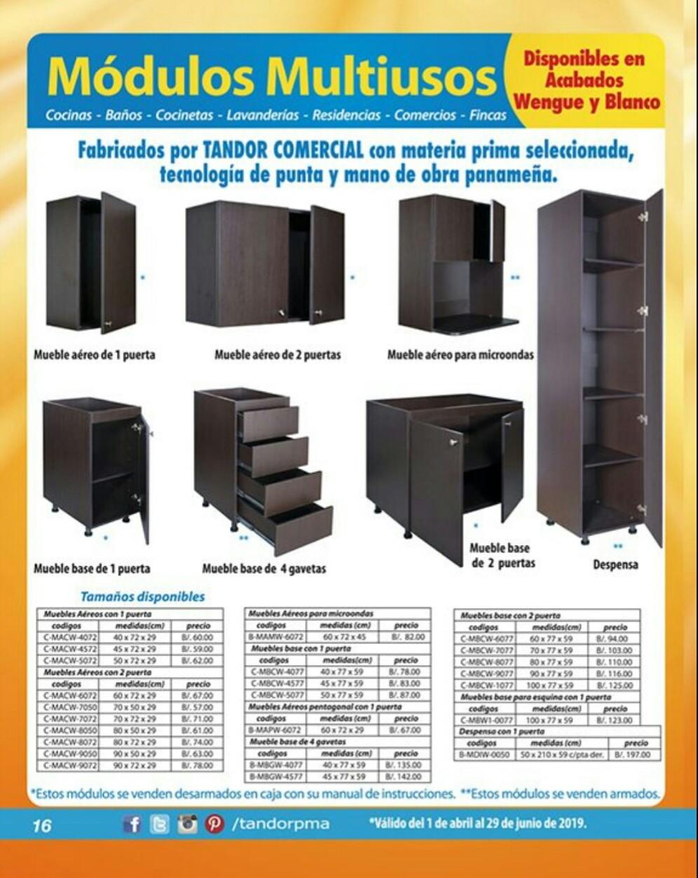 Catalogo Tandor Abril 2019 pagina 16