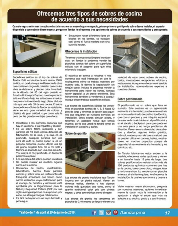 Catalogo Tandor Abril 2019 pagina 17