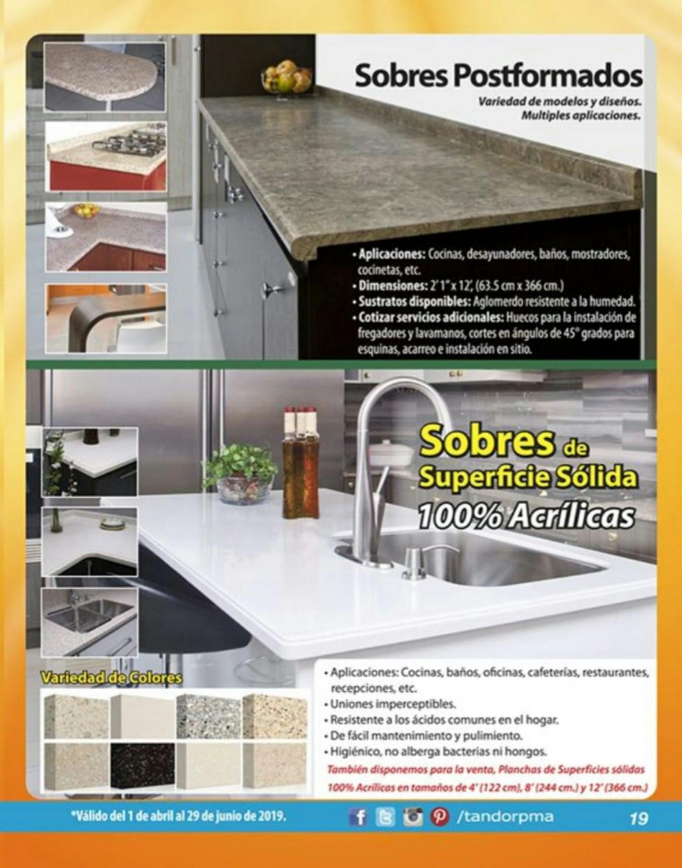 Catalogo Tandor Abril 2019 pagina 19