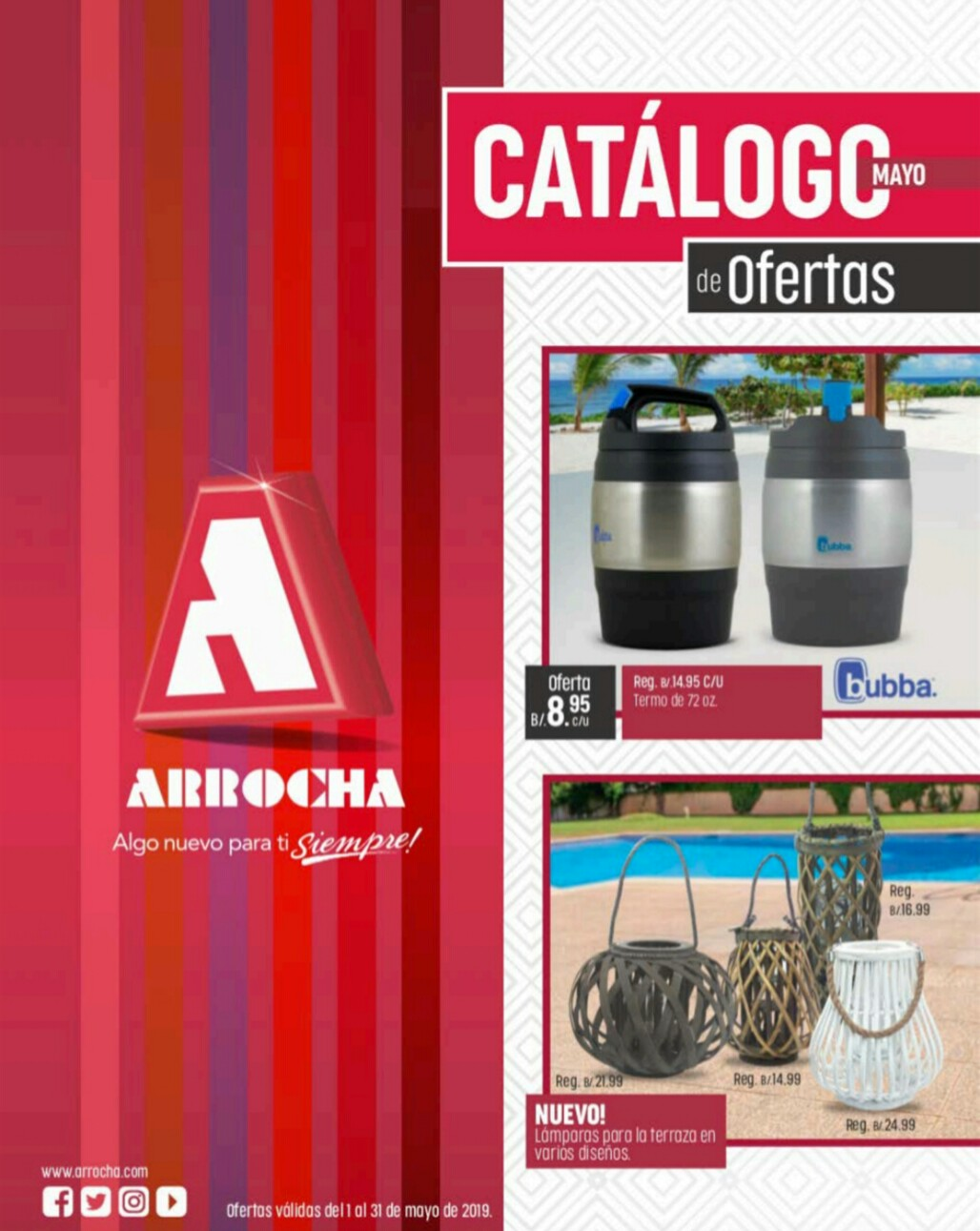 Catalogo farmacia arrocha mayo 2019 p1