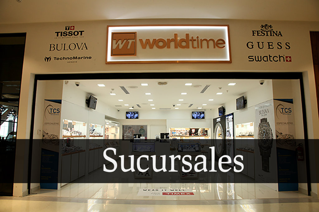 world time sucursales