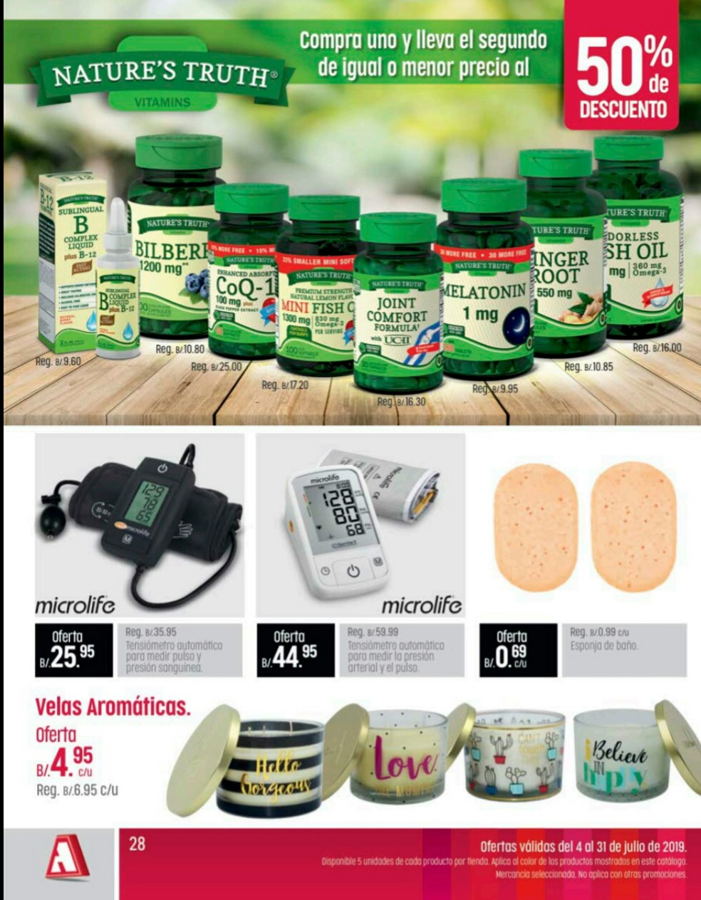 Catalogo farmacias arrocha Julio año 2019 p28