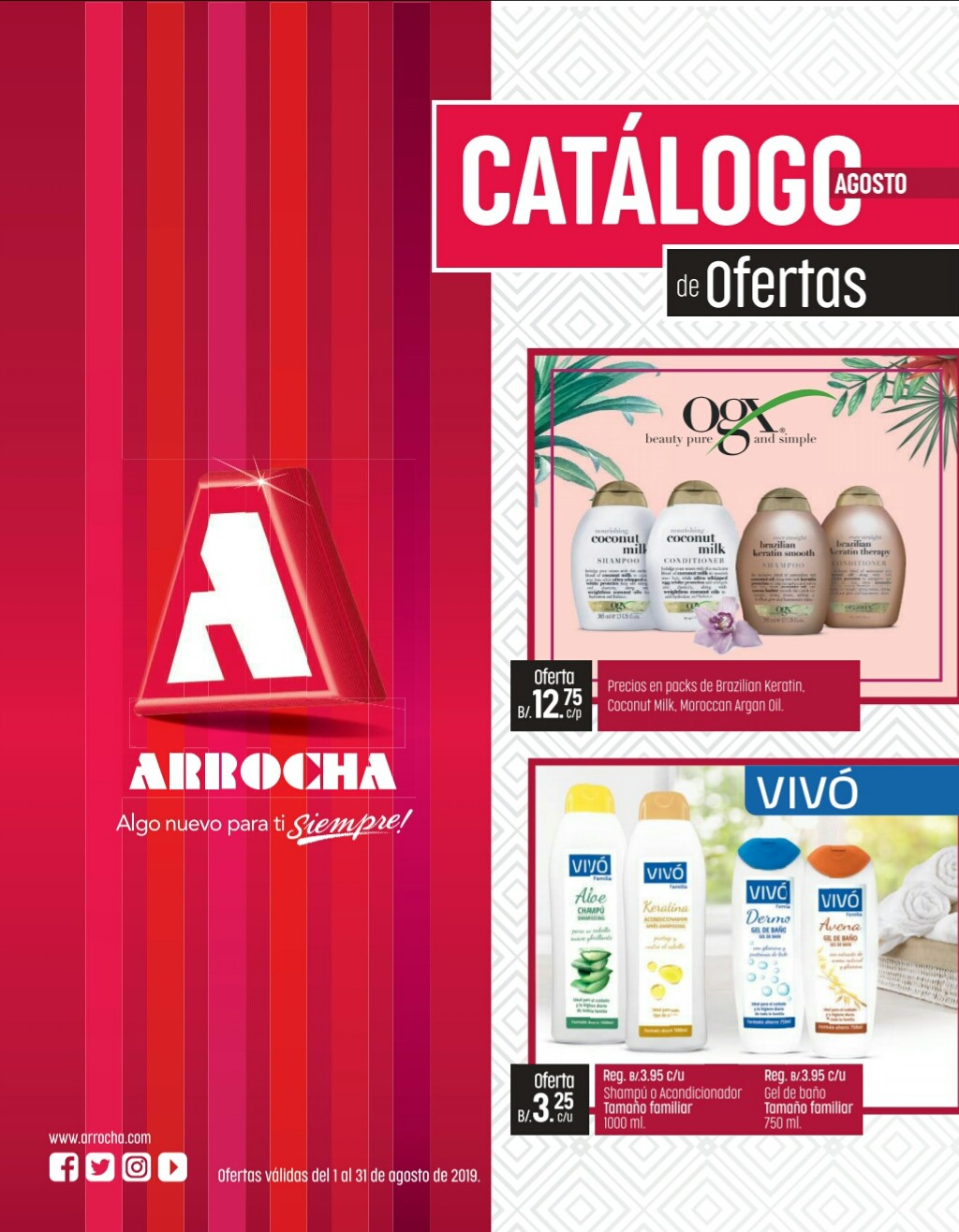 Catalogo Arrocha Agosto 2019 p1