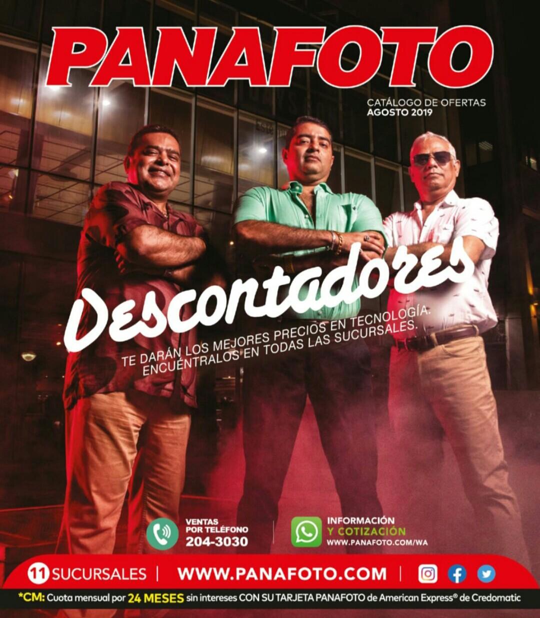 Catalogo Panafoto Agosto 2019 p1