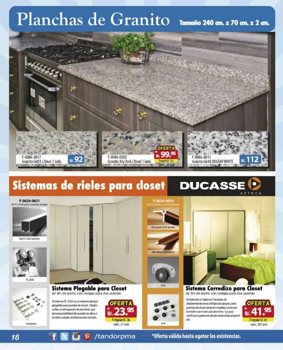 Catalogo Tandor agosto septiembre 2019 p18