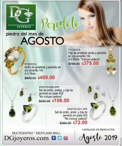 Catalogo de prendas DG Joyeros Agosto 2019 p1
