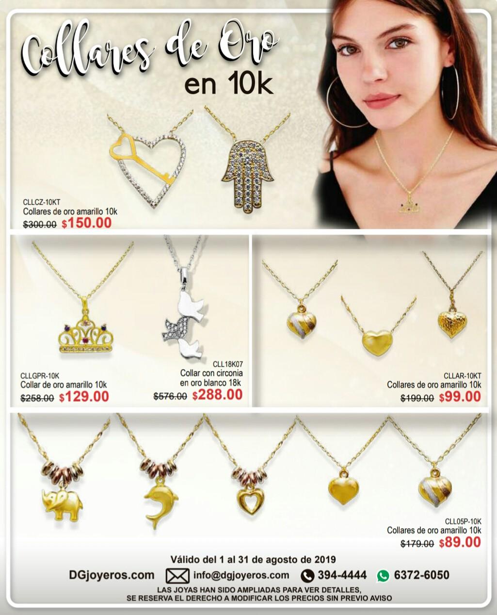 Catalogo de prendas DG Joyeros Agosto 2019 p9