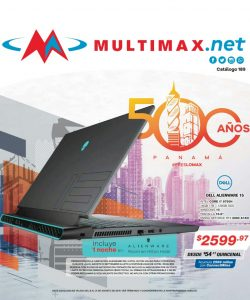 Catalogo laptops multimax agosto 2019 p1