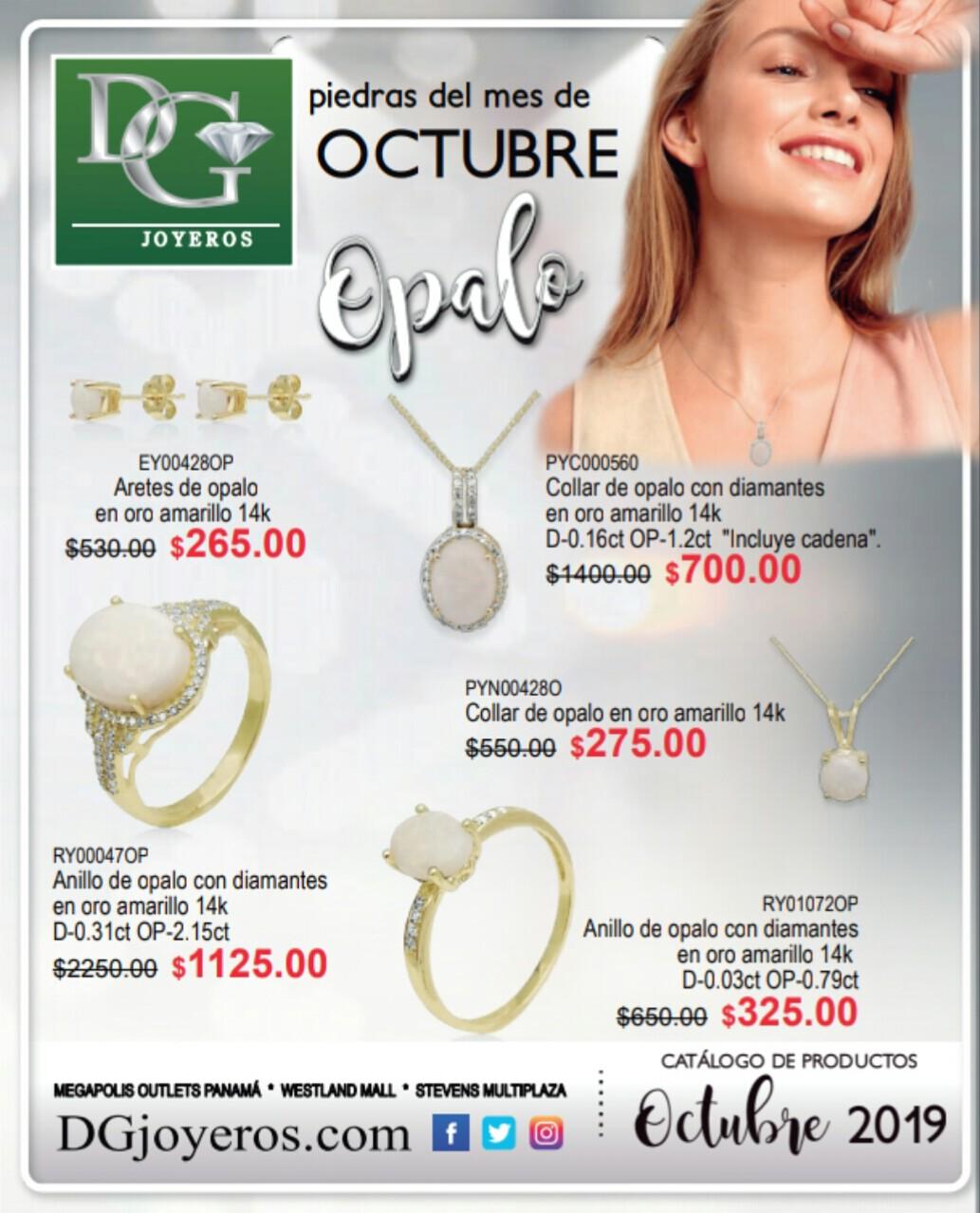 Catalogo DG Joyeros Octubre 2019 p1