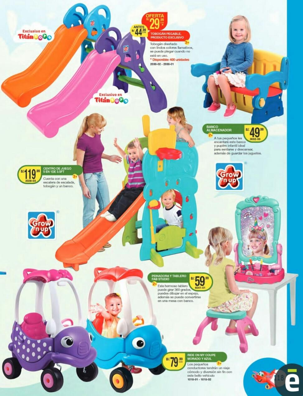 Catalogo juguetes Titan Toys 2019 p118