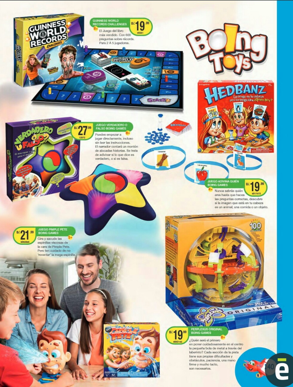 Catalogo juguetes Titan Toys 2019 p140