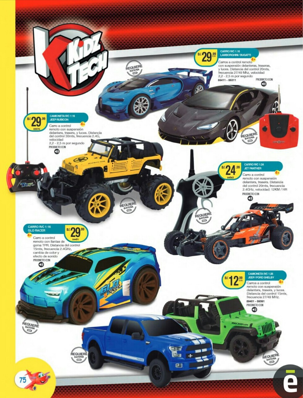 Catalogo juguetes Titan Toys 2019 p75