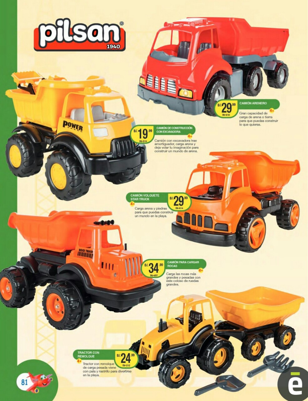 Catalogo juguetes Titan Toys 2019 p81