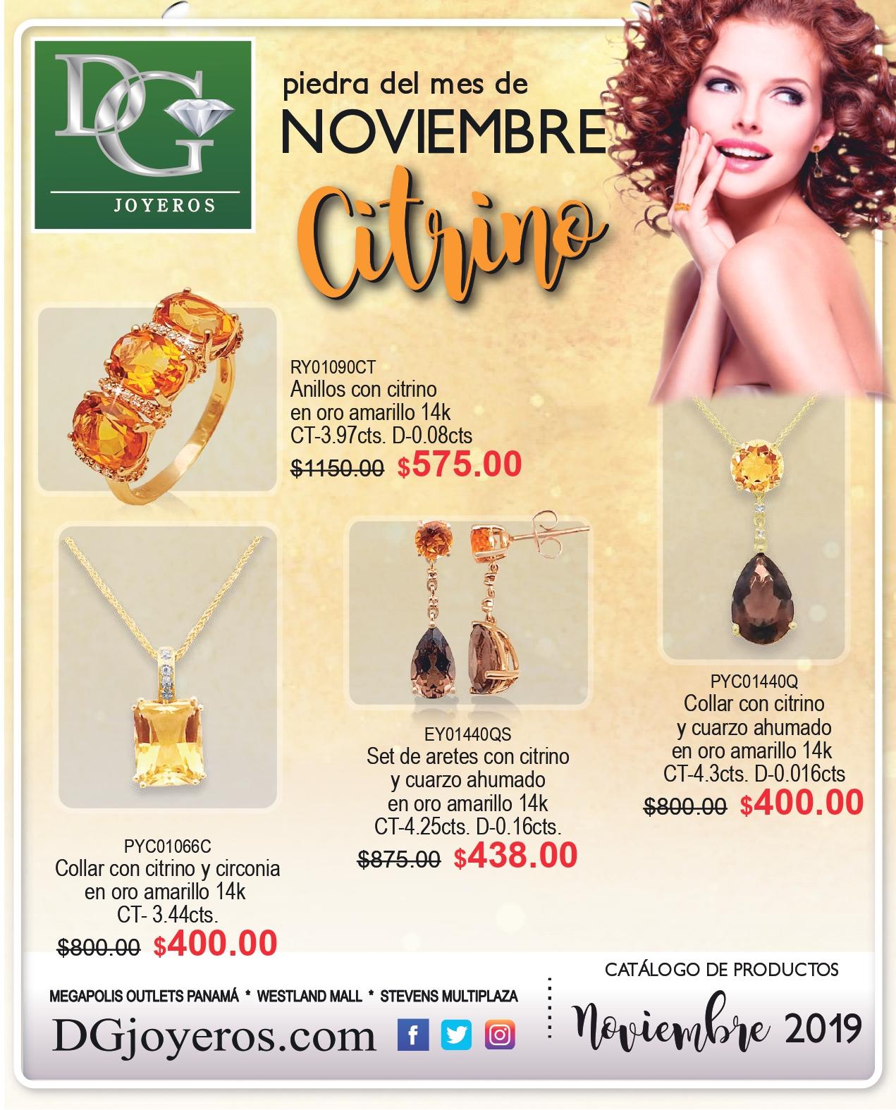 Catalogo DG Joyeros Noviembre 2019 p1