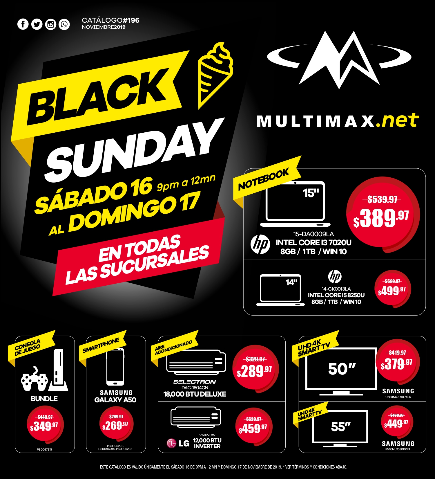 Catalogo Multimax Black sunday 2019 p1